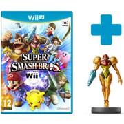 Super Smash Bros. for Wii U + Samus No.7 amiibo