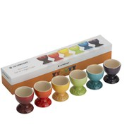 Le Creuset Stoneware Rainbow Egg Cups (Set of 6) - Multi