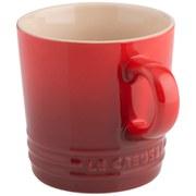 Le Creuset Stoneware Cappuccino Mug, 200ml - Cerise