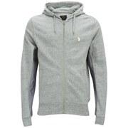 Luke Men's Kameleon Crew Neck Sweatshirt - Light Grey Marl