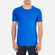 J.Lindeberg Men's Axtell Crew Neck Slim Fit T-Shirt - Blue