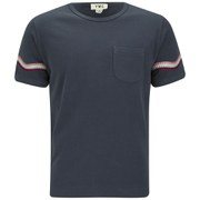 YMC Men's Wave Short Sleeve T-Shirt - Navy