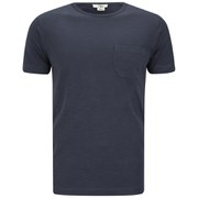 YMC Men's Classic Pocket Cotton Slub Jersey T-Shirt - Navy