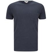 YMC Men's Classic Pocket Cotton Slub Jersey T-Shirt - Navy