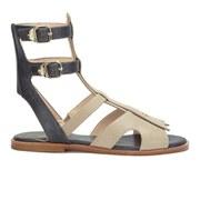 Vivienne Westwood Anglomania Women's Cullen Vachetta Gladiator Sandals - Navy/Beige