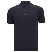 John Smedley Men's Adrian Slim-Fit Sea Island Cotton Polo Shirt - Navy