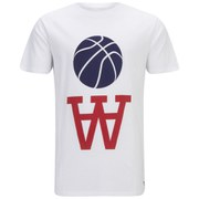 Wood Wood Men's Team AA Color T-Shirt- White