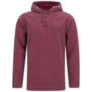 Regatta Men's Quiet Time Vintage Washed Hoody - Rhubarb Red