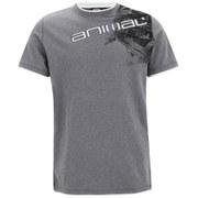 Animal Men's Linsdo Deluxe T-Shirt - Charcoal Marl