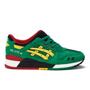 Asics Men's Gel-lyte III Trainers - Green/Yellow