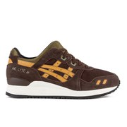 Asics Men's Gel Lyte III Trainers - Dark Brown/Olive