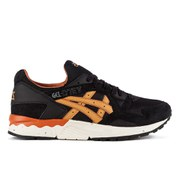 Asics Men's Gel-Lyte V Trainers - Black/Tan