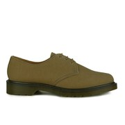 Dr. Martens Men's Core Lester 3-Eye Shoes - Tan Chera Wax Canvas
