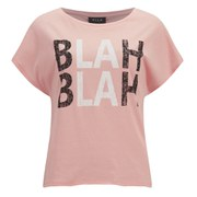 VILA Women's BLAH T-Shirt - Apricot Blush