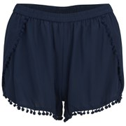 VILA Women's Silak Shorts - Black Iris