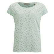 Maison Scotch Women's Burn Out T-Shirt - Mint