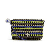 M Missoni Women's Lurex Cross Body Bag - Black