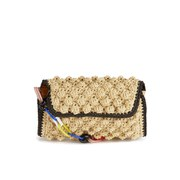 M Missoni Women's Raffia Shoulder Bag - Beige