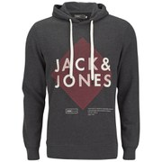 Jack & Jones Men's Covan Hoody - Dark Grey