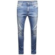 Jack & Jones Men's NOOS Ben Original Skinny Fit Jeans - Light Wash