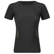 Skins A400 Women's Active Compression Short Sleeve Top - Black