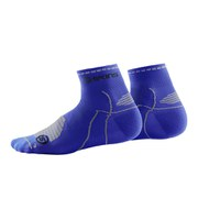 Skins Cycle Quarter Socks - Blue