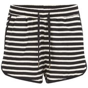 Vero Moda Women's Beaty Striped Shorts - Black