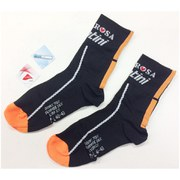 Santini De Rosa Coolmax Socks - Black