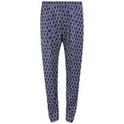 Six Ames Women's Dulga Printed Trousers - Navy