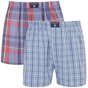 GANT Men's Essential 2 Pack Boxer Shorts - Red