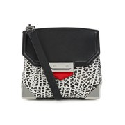 Alexander Wang Women's Marion Prisma Lock Cross Body Bag - Black/Light Concrete