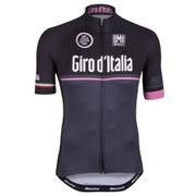 Santini Giro d'Italia 2015 Event Line Short Sleeve Jersey - Black