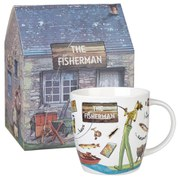 Queens at Your Leisure Squash Mug Fisherman Gift Box (275ml) - Multi