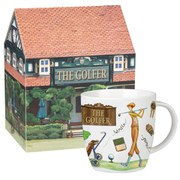 Queens at Your Leisure Squash Mug Golfer Gift Box (275ml) - Multi