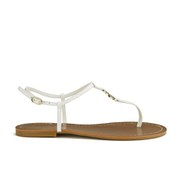 Lauren Ralph Lauren Women's Aimon Leather Sandals - White