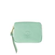 Herschel Supply Co. Women's Oxford Leather Zip Around Purse - Matcha