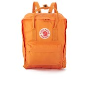 Fjallraven Men's Kanken Backpack - Burnt Orange/Deep Red