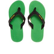 Rip Curl Men's The Ten Gabriel Medina Signature Pro Flip Flops - Green/Black