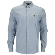 Lyle & Scott Men's Oxford Long Sleeve Shirt - French Navy