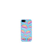 Markus Lupfer Women's Rainbow Glitter Lip iPhone 5/5S Hardcover