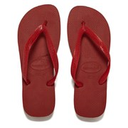 Havaianas Unisex Top Flip Flops - Red