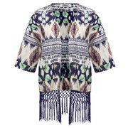 ONLY Women's Rory Tassel Kimono - Cloud Dancer