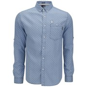 Soul Star Men's MS Dots Shirt - Blue
