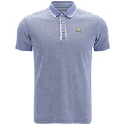Kangol Men's Hinton Polo Shirt - Surf Blue Marl