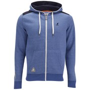 Kangol Men's Gander Hoody - Light Blue Marl