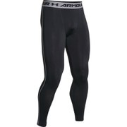 Under Armour Men's Armour Heat Gear Compression Training Leggings - Black/Steel