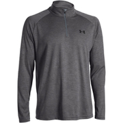 Under Armour Men's Tech 1/4 Zip Long Sleeve Top - Carbon Heather