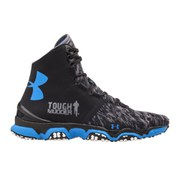 Under Armour Men's Speedform XC MID Running Shoes - Black/White/Blue Jet