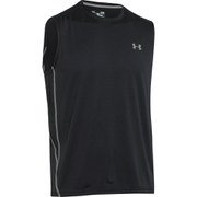 Under Armour Men's Sleeveless Tech T-Shirt - Black/Steel