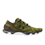 Under Armour Men's SpeedForm Apollo Vent Running Shoes - Rifle Green/Black